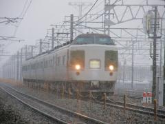 189系妙高 2010年3月7日