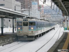 115系 松本駅 2010年3月10日