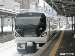 E257系あずさ3号 2010年3月10日