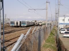 長ナノ廃車置場全景2010年3月17日