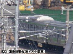 長ナノE231系500番台2010年3月17日
