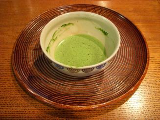 一保堂茶舗 喫茶室嘉木(京都限定 北野の昔 濃茶セット(薄茶))