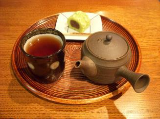一保堂茶舗 喫茶室嘉木(極上ほうじ茶¥410)