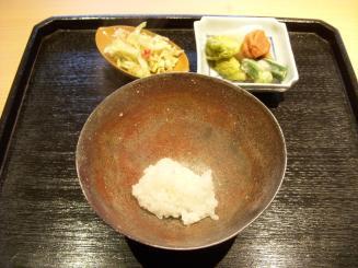 じき宮ざわ(昼3680円コース⑤-1(釜ごはん・漬け物))