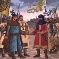 フリードリヒ2世とアル・カーミル