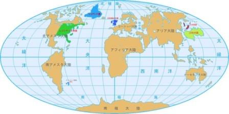 世界地図 地球