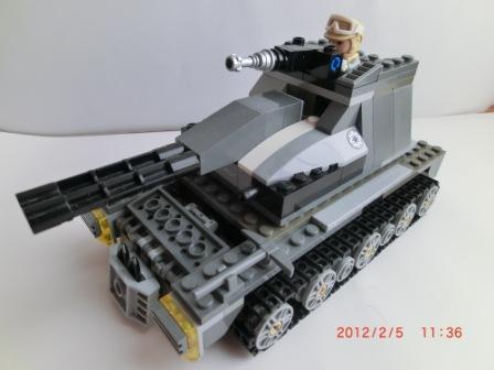 """中型戦車""""レグルス"""""""