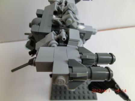 肩部ミサイルポット