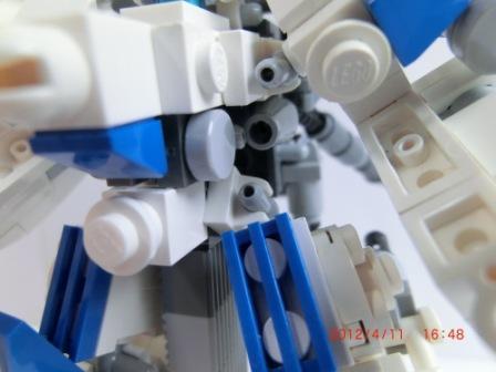 腹部小型プラズマ砲