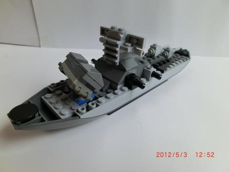 レナード級ミサイル駆逐艦 バック