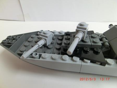 レナード級 艦砲