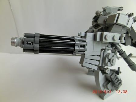 アームガトリング砲