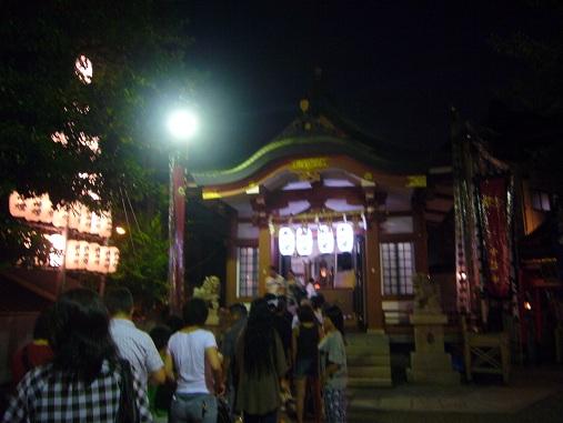 N夏祭り2011夜