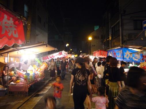 N夏祭り2011夜2