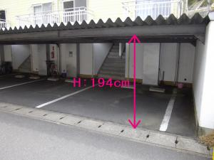桜ハイツ-ガレージ