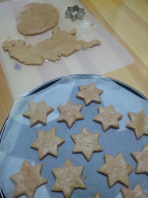 COCOAクッキー製作中