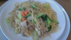 野菜のペペロンチーノ