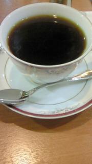 ワッフルを食べたときに頂いたコーヒー