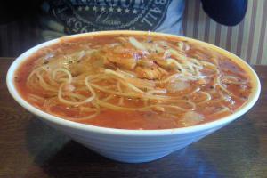 ツナ&バジルのトマトスープ