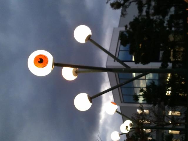 めだまの街灯