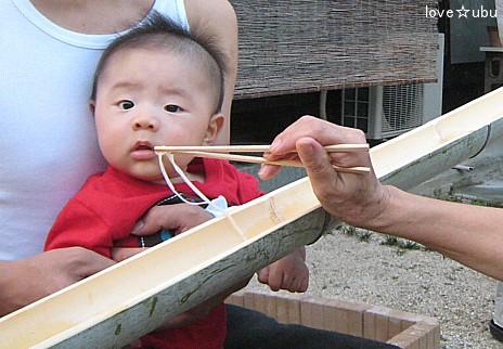 流し素麺③
