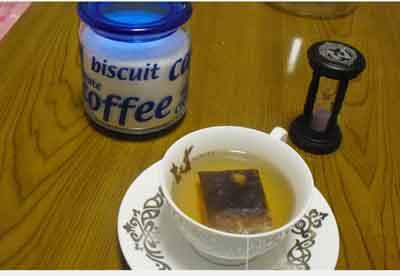 紅茶の入れ方その1