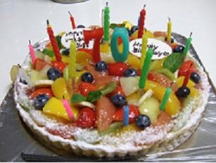 古希ケーキ
