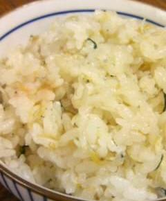 シラス炊き込みご飯8