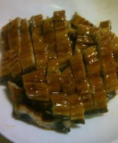 うなぎと高菜と卵の混ぜご飯2