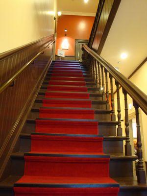 スタバ階段