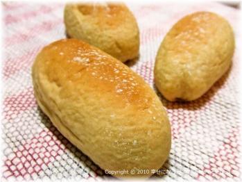 ノンオイル黒糖パン