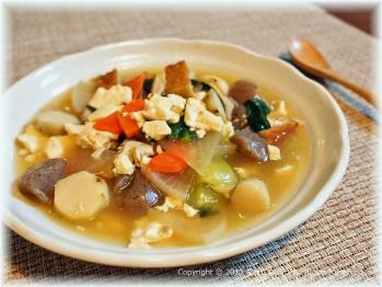 豆腐とろみ煮