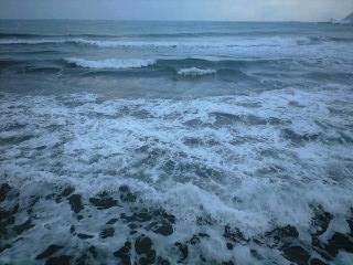 波がぁ~。
