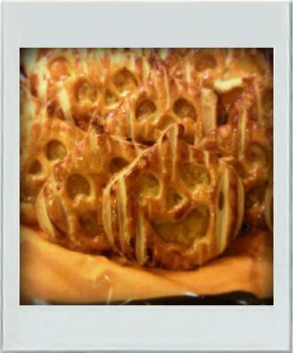 カボチャのパイがいっぱい