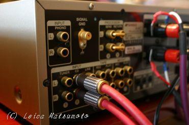 SC-E232の試聴機器とケーブル