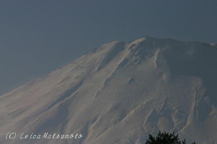 300ミリの富士