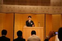ブログ用宮本全青連会長の講演