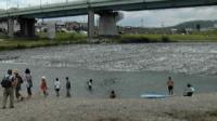 河原にて4