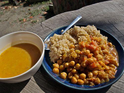 5ひよこ豆カレー&レンズ豆スープ