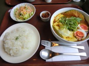 手稲区スープカレー アルタイル 野菜とベーコンのカリー