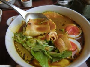 手稲区スープカレー アルタイル 野菜とベーコンのカリー3