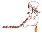 女の子 花(BOUS)
