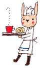 うさぎ ロールケーキ(BOUS)