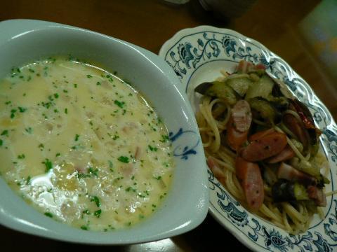 2009年10月19日夕食