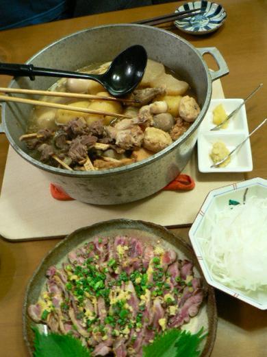 2009年10月23日夕食