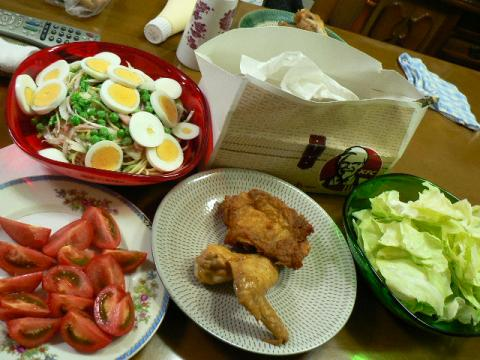 2009年10月26日夕食