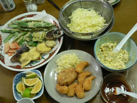 2009年10月29日夕食