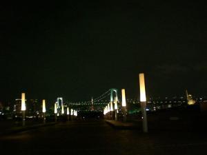 キレイ☆ お台場の夜景