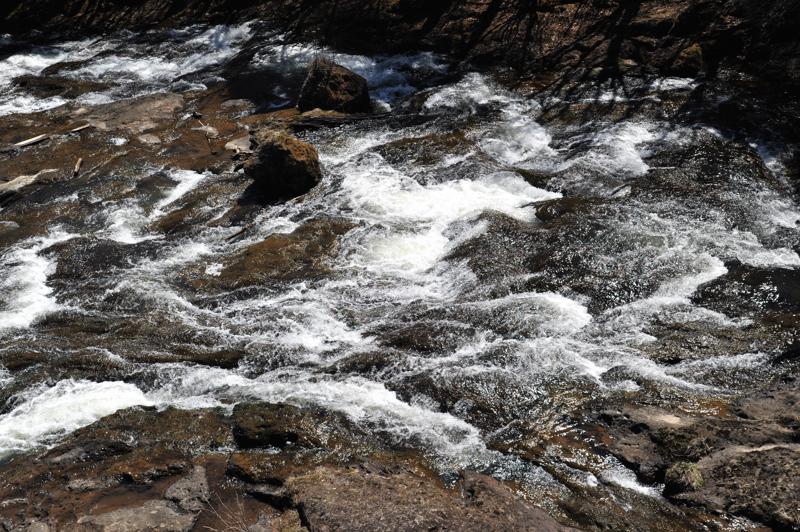 竜頭の滝上