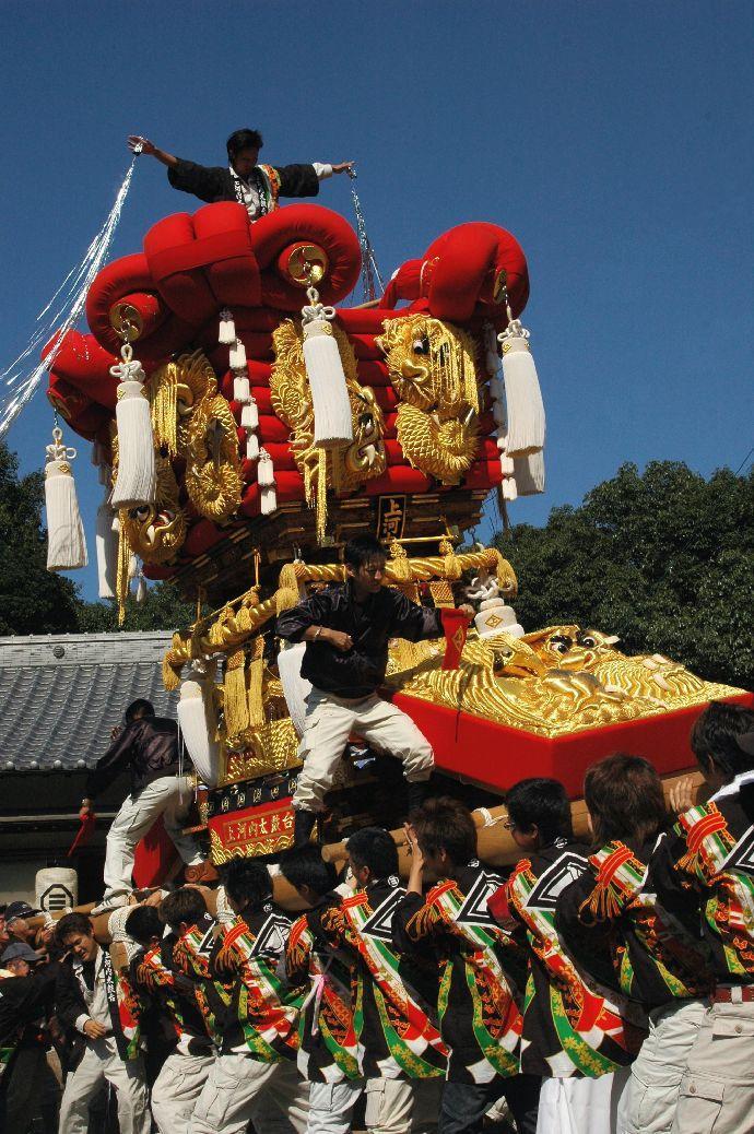 山本町「ちょうさ」秋祭り 043